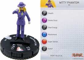 YuGiOh HeroClix Single Figure #16 Witty Phantom