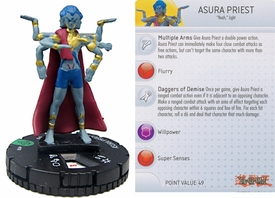 YuGiOh HeroClix Single Figure #18 Asura Priest