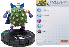YuGiOh HeroClix Single Figure #19 Thousand-Eyes Idol