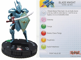 YuGiOh HeroClix Single Figure #20 Blade Knight