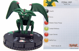 YuGiOh HeroClix Single Figure #25 Feral Imp