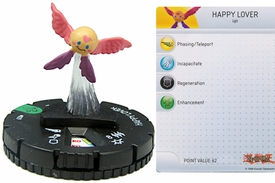 YuGiOh HeroClix Single Figure #27 Happy Lover
