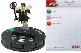 YuGiOh HeroClix Single Figure #28 Key Mace