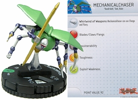YuGiOh HeroClix Single Figure #30 Mechanicalchaser