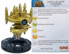 YuGiOh HeroClix Single Figure #34 Castle of Dark Illusions