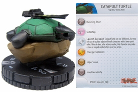 YuGiOh HeroClix Single Figure #35 Catapult Turtle