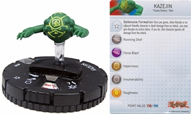 YuGiOh HeroClix Single Figure #39 Kazejin