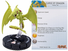 YuGiOh HeroClix Single Figure #40 Curse of Dragon