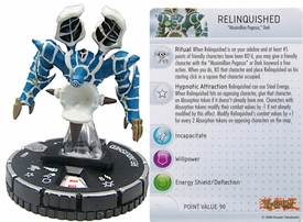 YuGiOh HeroClix Single Figure #43 Relinquished