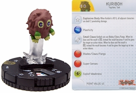YuGiOh HeroClix Single Figure #45 Kuriboh