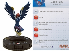 YuGiOh HeroClix Single Figure #47 Harpie Lady