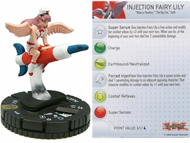 YuGiOh HeroClix Single Figure #49 Injection Fairy Lily