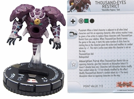 YuGiOh HeroClix Single Figure #51 Thousand-Eyes Restrict