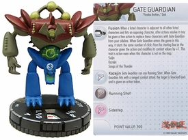 YuGiOh HeroClix Single Figure #52 Gate Guardian