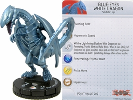 YuGiOh HeroClix Single Figure #53 Blue-Eyes White Dragon