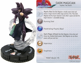 YuGiOh HeroClix Single Figure #55 Dark Magician