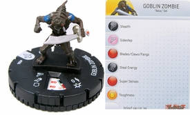 YuGiOh HeroClix Single Figure #6 Goblin Zombie