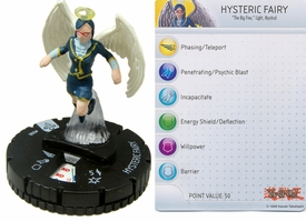 YuGiOh HeroClix Single Figure #8 Hysterical Fairy