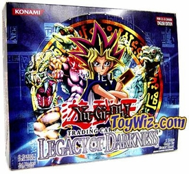 YuGiOh Legacy of Darkness 1st EDITION Booster BOX [36 Packs]