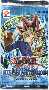 YuGiOh Legend of Blue-Eyes White Dragon 1st Edition Booster Pack