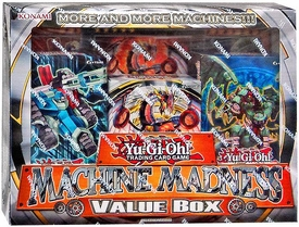 YuGiOh Machine Madness Value Box [3 Structure Decks + 3 Oversized Cards]