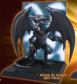 YuGiOh NECA 3.5 Inch Diorama Figure Red Eyes Black Dragon Pre-Order ships July