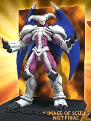 YuGiOh NECA 3.5 Inch Diorama Figure Summoned Skull Pre-Order ships July