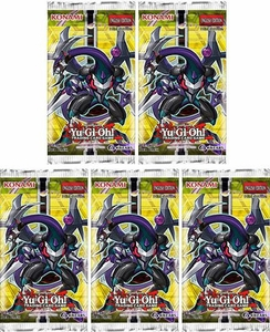 YuGiOh New Challengers Lot of 5 Booster Packs Pre-Order ships November 7, 2014