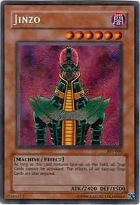 YuGiOh Pharaoh's Servant Single Card Secret Rare PSV-000 Jinzo