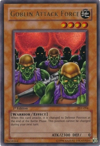 YuGiOh Pharaoh's Servant Single Card Ultra Rare PSV-094 Goblin Attack Force