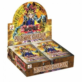 YuGiOh Pharaonic Guardian 1st EDITION Booster Box [24 Packs]