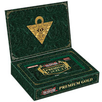 YuGiOh Premium Gold Display Box [5 Mini Boxes] Pre-Order ships March 28, 2014