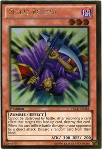 YuGiOh Premium Gold Single Card Gold Rare PGLD-EN083 Spirit Reaper