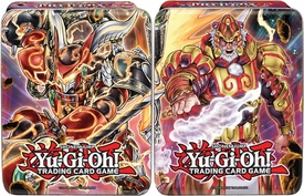 YuGiOh Set of Both 2014 Mega Tins [Bujintei Susanowo & Brotherhood of the Fire Fist - Tiger King] New!