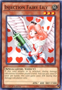 YuGiOh Space-Time Showdown Power-Up Pack Single Card Common YS14-ENA07 Injection Fairy Lily