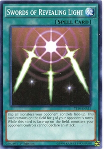 YuGiOh Space-Time Showdown Power-Up Pack Single Card Common YS14-ENA11 Swords of Revealing Light