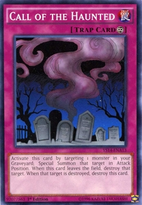 YuGiOh Space-Time Showdown Power-Up Pack Single Card Common YS14-ENA13 Call of the Haunted