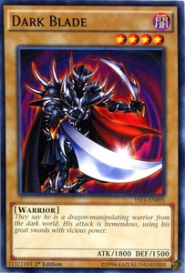 YuGiOh Super Starter: Space-Time Showdown Single Card Common YS14-EN005 Dark Blade