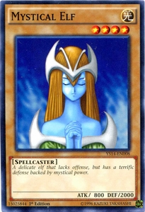 YuGiOh Super Starter: Space-Time Showdown Single Card Common YS14-EN008 Mystical Elf