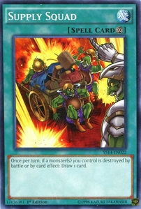 YuGiOh Super Starter: Space-Time Showdown Single Card Common YS14-EN022 Supply Squad Hot!