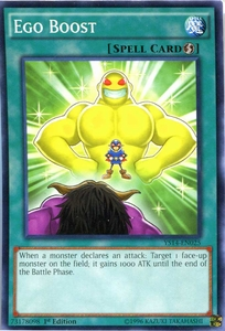 YuGiOh Super Starter: Space-Time Showdown Single Card Common YS14-EN025 Ego Boost