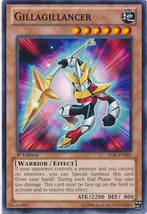 YuGiOh Zexal Legacy of the Valiant Single Card Common LVAL-EN003 Gillagillancer