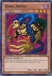 YuGiOh Zexal Legacy of the Valiant Single Card Common LVAL-EN090 Dark Artist