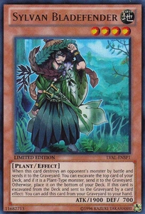 YuGiOh Zexal Legacy of the Valiant Single Card Super Rare LVAL-EN000 Sylvan Bladefender BLOWOUT SALE!