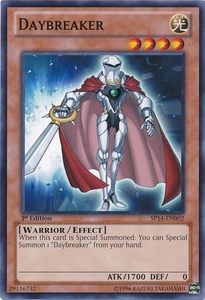 YuGiOh Zexal Star Pack 2014 Single Card SP14-EN002 Daybreaker