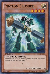 YuGiOh Zexal Star Pack 2014 Single Card SP14-EN008 Photon Crusher
