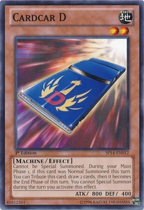 YuGiOh Zexal Star Pack 2014 Single Card SP14-EN012 Cardcar D