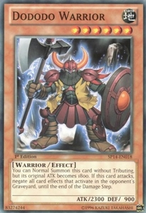 YuGiOh Zexal Star Pack 2014 Single Card SP14-EN018 Dododo Warrior