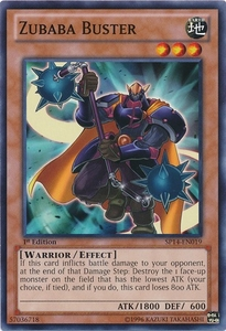 YuGiOh Zexal Star Pack 2014 Single Card SP14-EN019 Zubaba Buster
