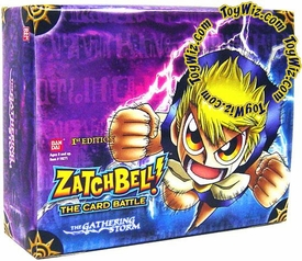 Zatch Bell Card Battle Game Gathering Storm Booster BOX [24 Packs]